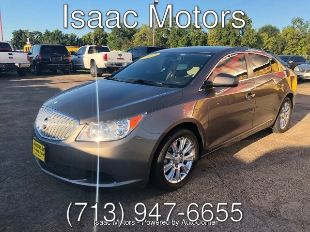 2012 Buick LaCrosse Convenience Package 6-Speed Automatic
