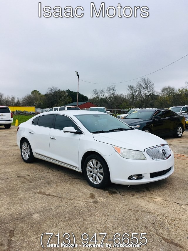2013 Buick LaCrosse Leather Package 6-Speed Automatic