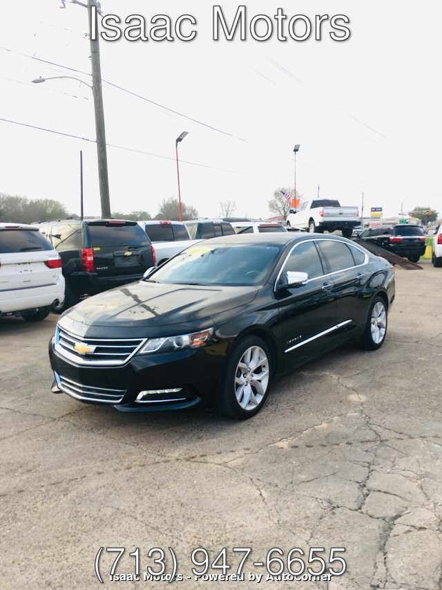 2015 Chevrolet Impala 2LZ 6-Speed Automatic