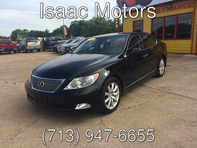 2009 Lexus LS 460 Luxury Sedan 8-Speed Automatic