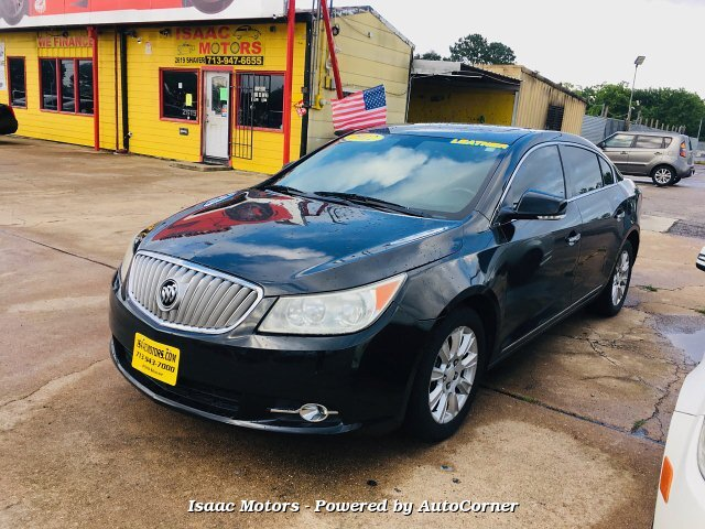 2012 Buick LaCrosse Leather Package 6-Speed Automatic