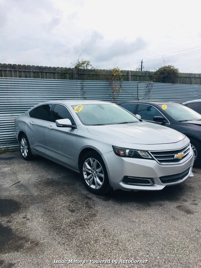 2016 Chevrolet Impala LT 6-Speed Automatic