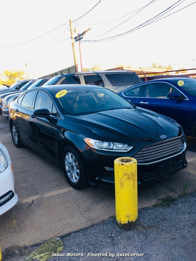 2016 Ford Fusion S 6-Speed Automatic